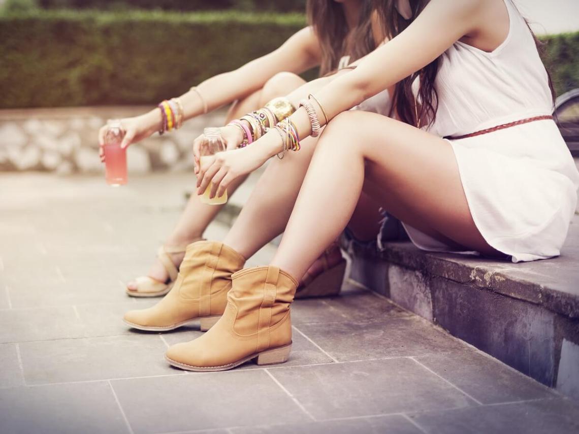 Low boots femmes style boho
