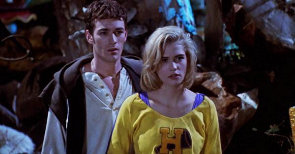 Luke Perry dans le film Buffy tueuse de vampires