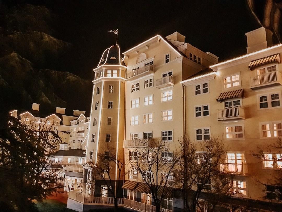 Vue de notre terrasse au Newport Bay Club