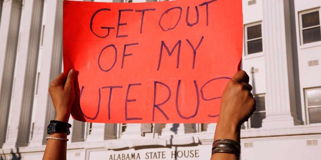 Manifestation après la loi anti avortement en Alabama