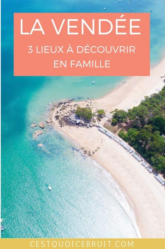 Voyager en France en famille, découvrir la Vendée #france #vendée #famille #voyageenfrance #travelfamily #travelblog
