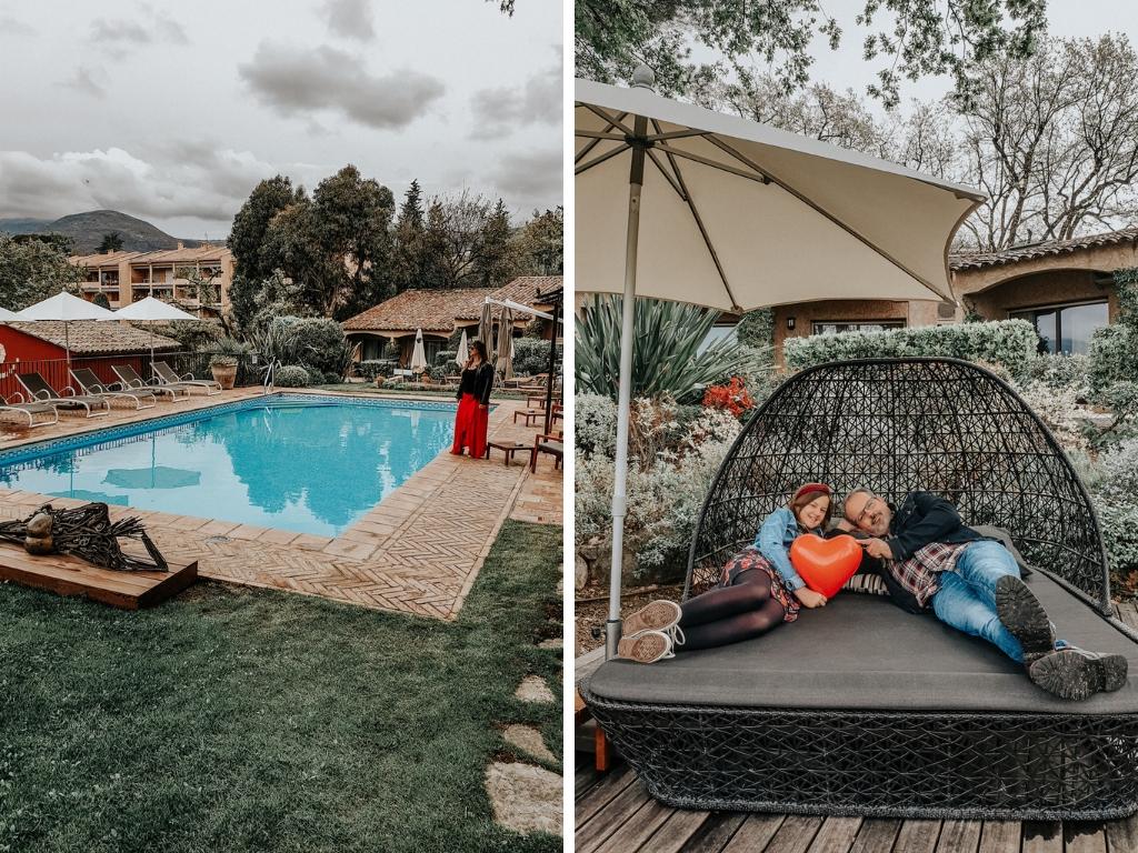 week-end en famille à Vence : hôtel Cantemerle