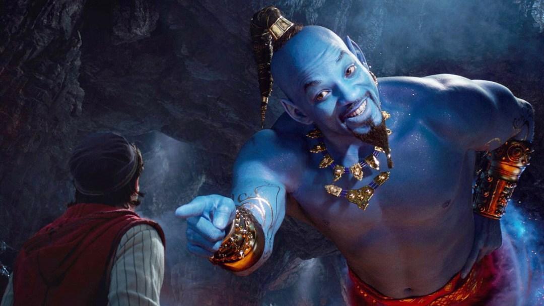 Will Smith joue le rôle du Génie dans Aladdin