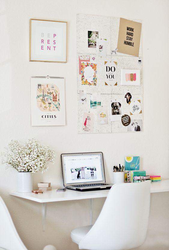 Décoration de bureau pour bien travailler de chez soi