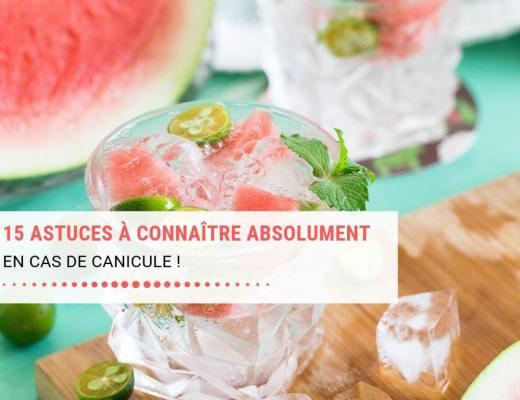 Canicule, 10 conseils et astuces fraicheur