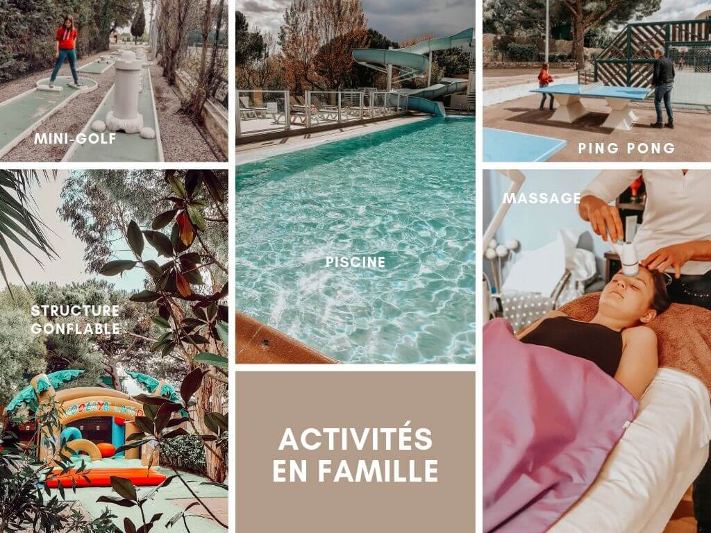 Notre séjour en famille au camping Sandaya Douce Quiétude (Var) : les activités familiales