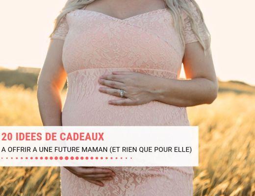 20 idées cadeaux pour future maman