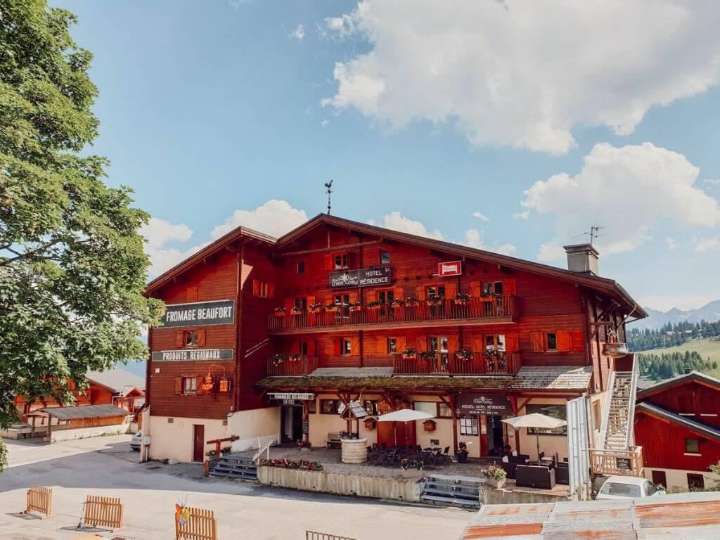 Chalet cosy, hotel résidence de charme dans la station Les Saisies, Savoie Mont Blanc