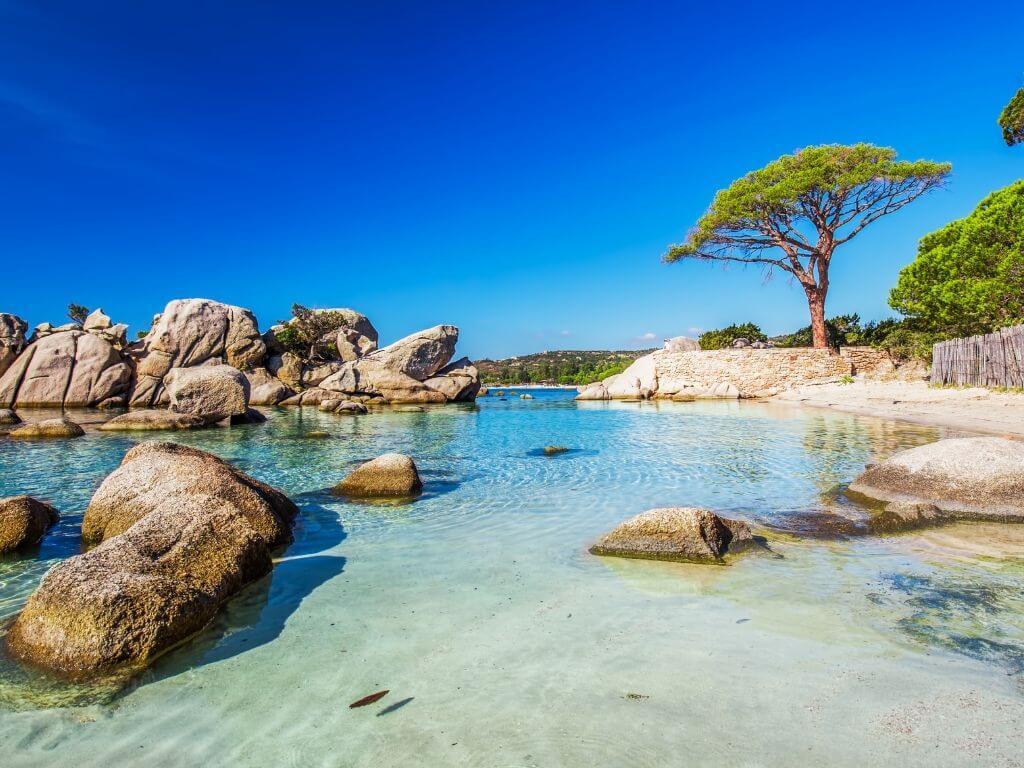 Palombaggia, superbe plage de Corse