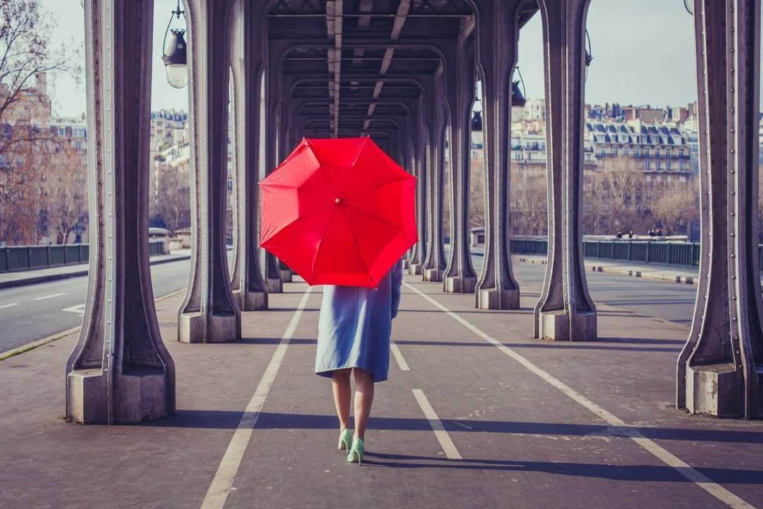 Le parapluie, accessoires mode qu'on oublie systématiquement en voyage
