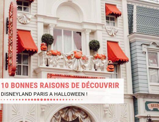 10 bonnes raisons de découvrir Disneyland Paris à Halloween