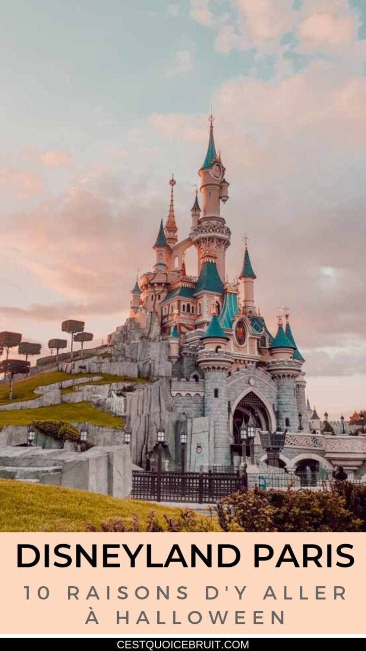 10 bonnes raisons de découvrir Disneyland Paris à Halloween en famille #disney #disneylandparis #paris #halloween #travel