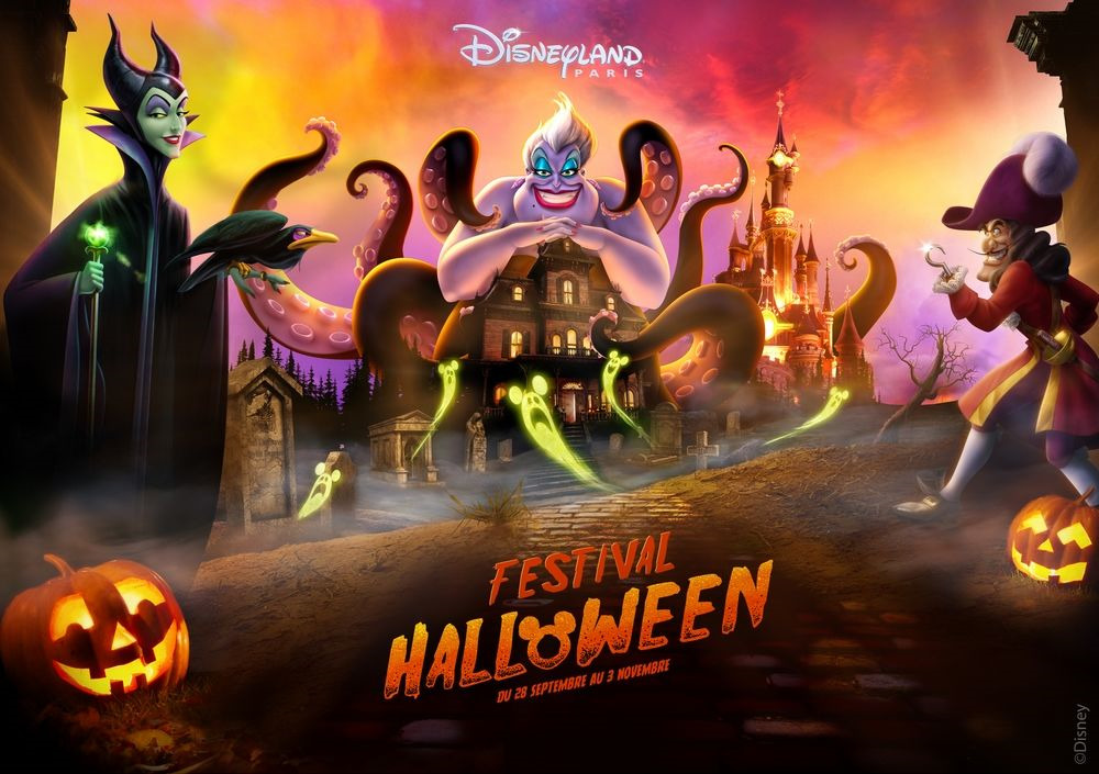 Festival Halloween à Disneyland Paris 2019