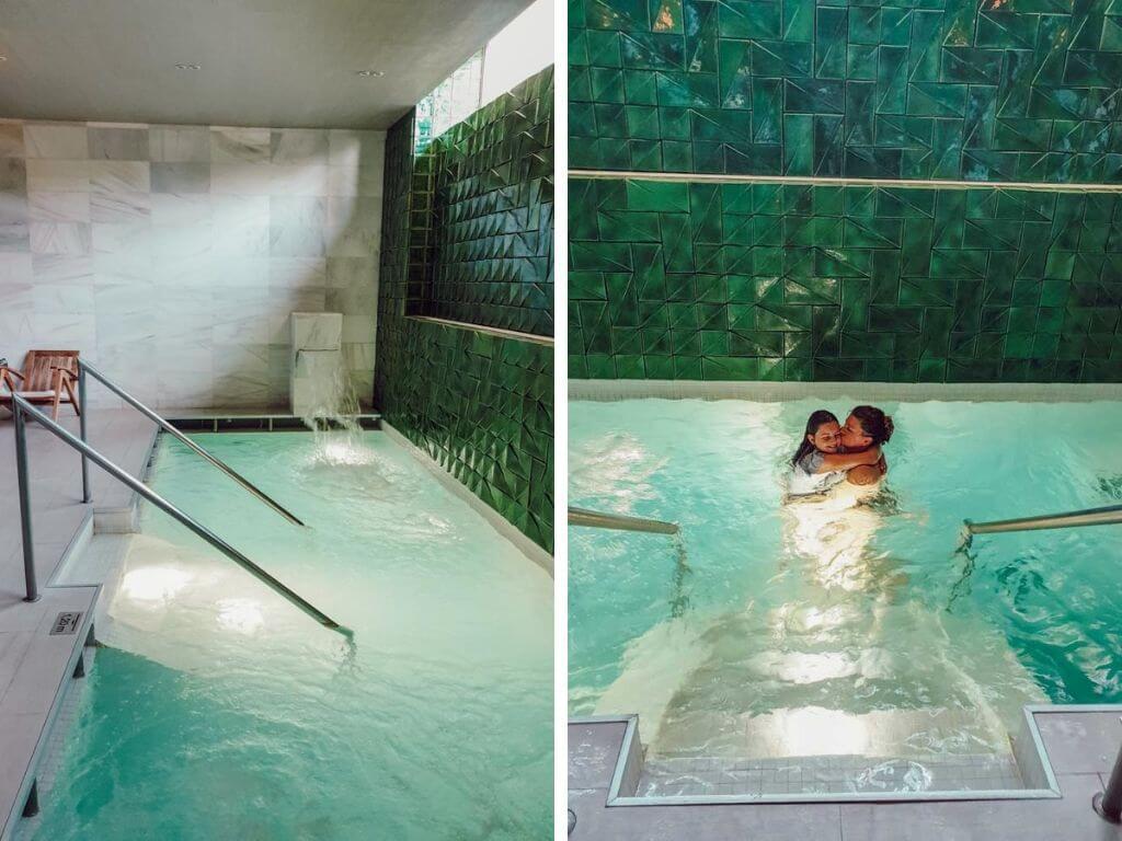 Détente à l'espace spa et wellness de l'Hôtel Camiral, PGA Catalunya Resort