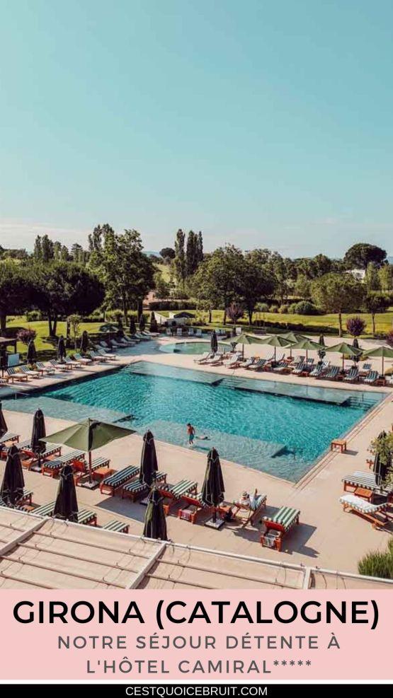 Séjour détente en famille en Catalogne à Girona Hotel Camiral #espagne #catalogne #voyage #hotel #catalunya #détente #spa #voyager