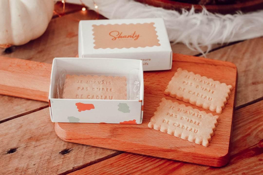Idée cadeau made in France : Les  biscuits Shanty chez La chaise longue