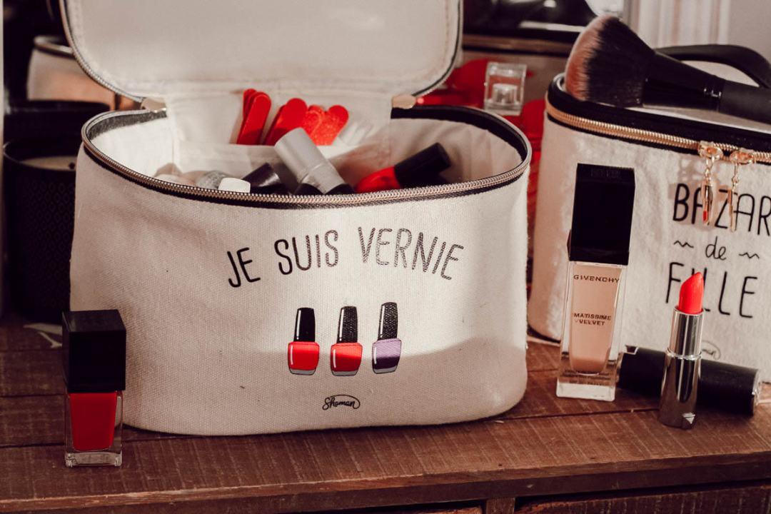 Idées cadeaux Made In France pur Noël chez La chaise longue : les vanities de fille