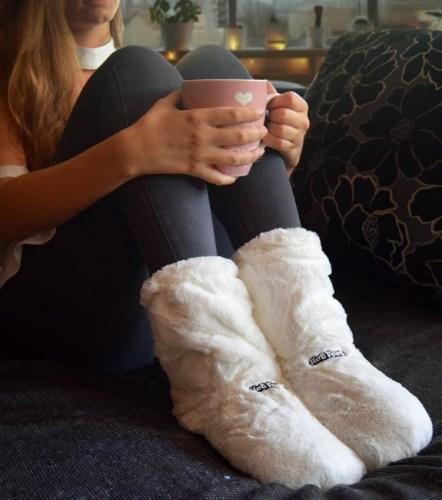 les chaussons chauffants pour les frileuses à offrir pour Noël