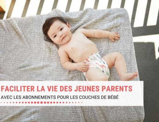 Faciliter la vie des jeunes parents avec les abonnements pour les couches de bébé (Little Bug Change)
