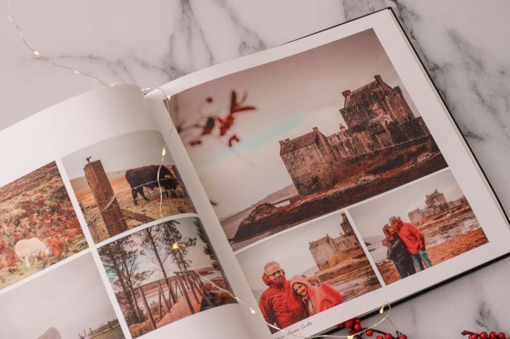 Souvenir de notre road-trip en famille en Ecosse avec un livre photo