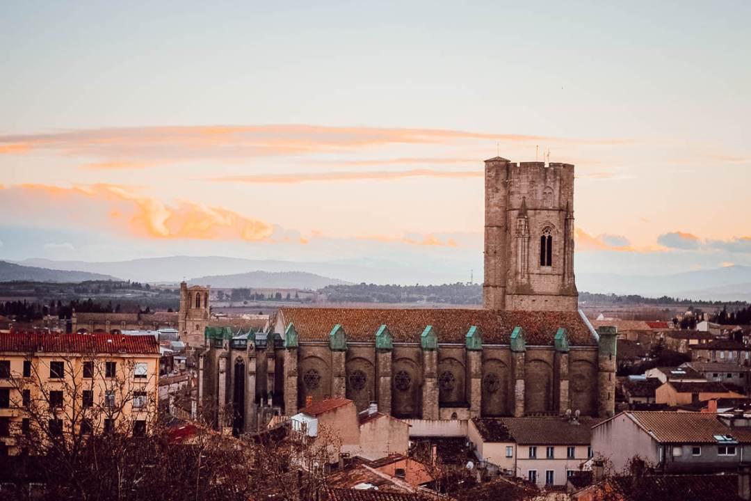 Vue de Carcassonne depuis la Grande Roue (blogtrip famille)