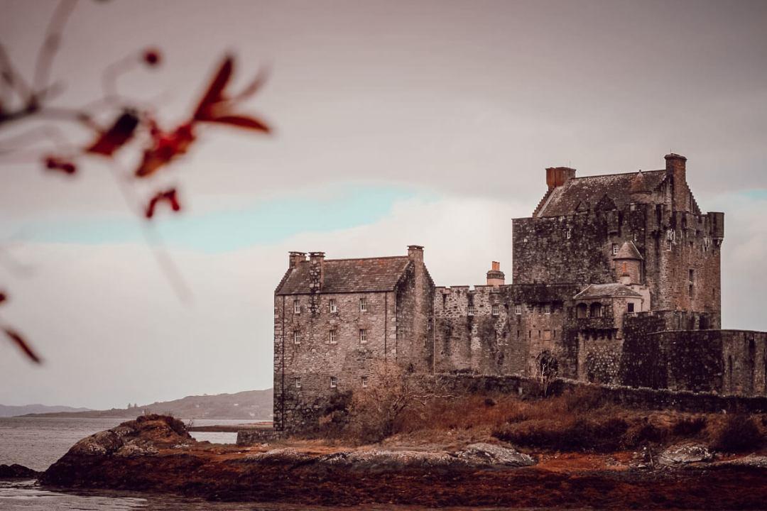 Eilean Donan Castle à voir pendant un voyage en Ecosse
