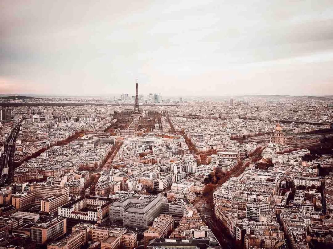 Vue de Paris depuis la tour Montparnasse, notre wee-end en famille pour mes 40 ans