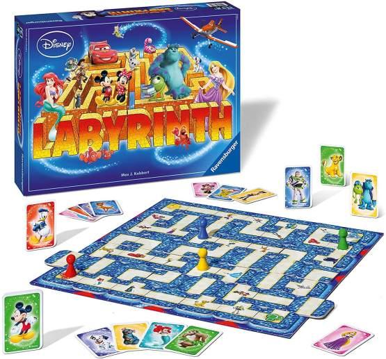 Mon jeu de société préféré pour jouer avec les enfants : le labyrinthe version Disney