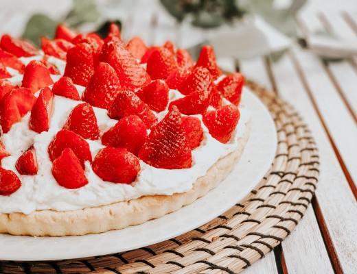 La tarte aux fraises et au mascarpone, la recette gourmande