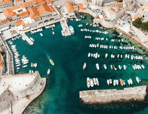 visiter Dubrovnik, la perle de l'Adriatique en Croatie