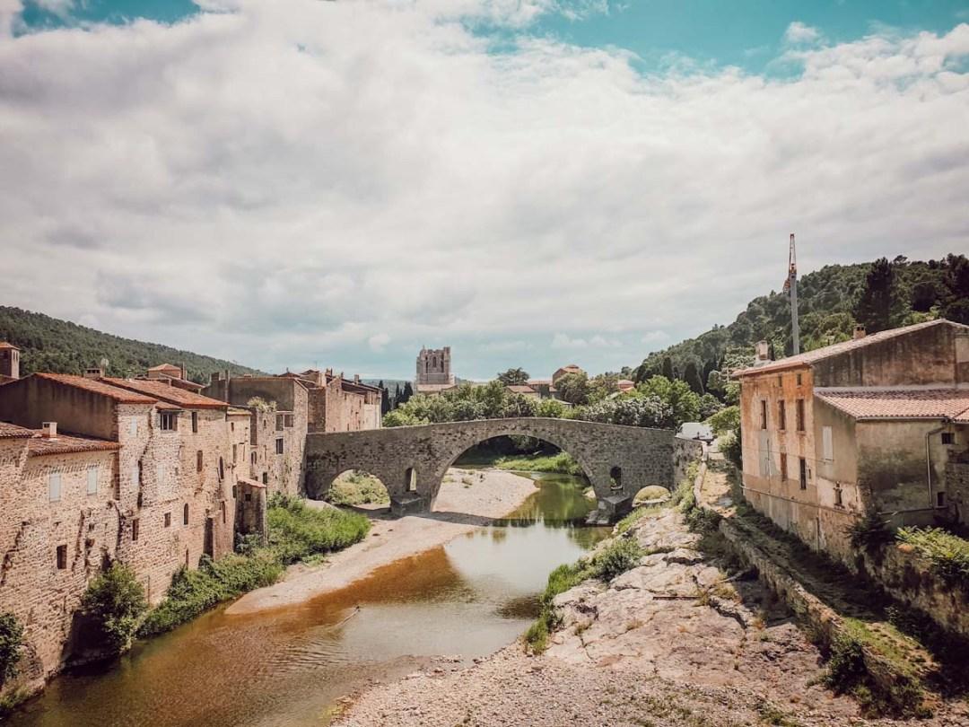 Lagrasse, plus beaux villages de France, Aude