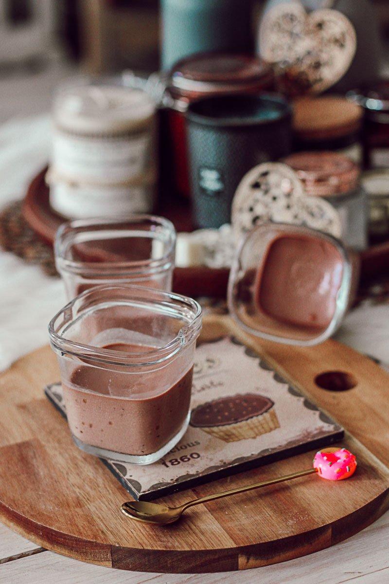 Recette : les crèmes au chocolat à la yaourtière Multidélices