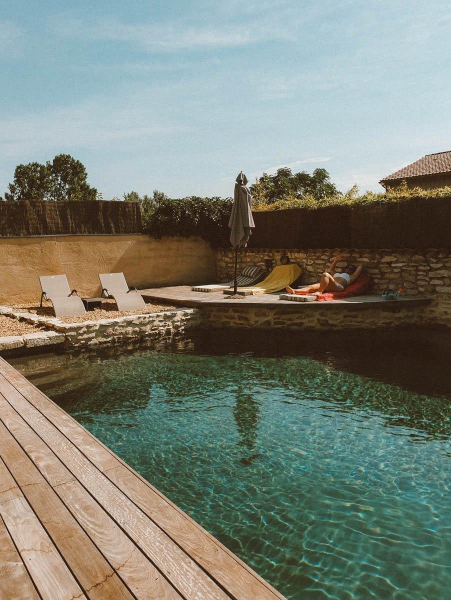 Chambre d'hôtes avec piscine dans le Gard