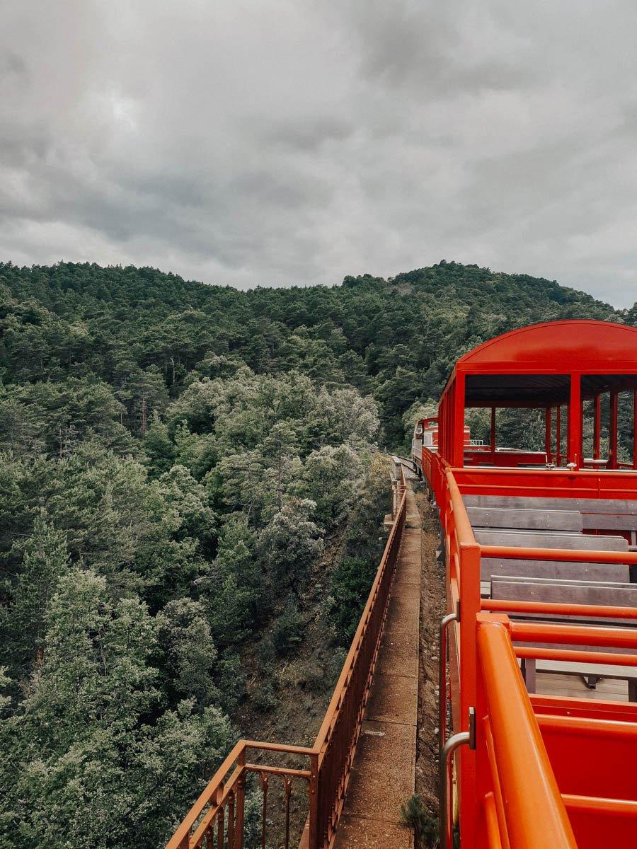 sortie TPCF - Train du Pays Cathare et du Fenouillèdes