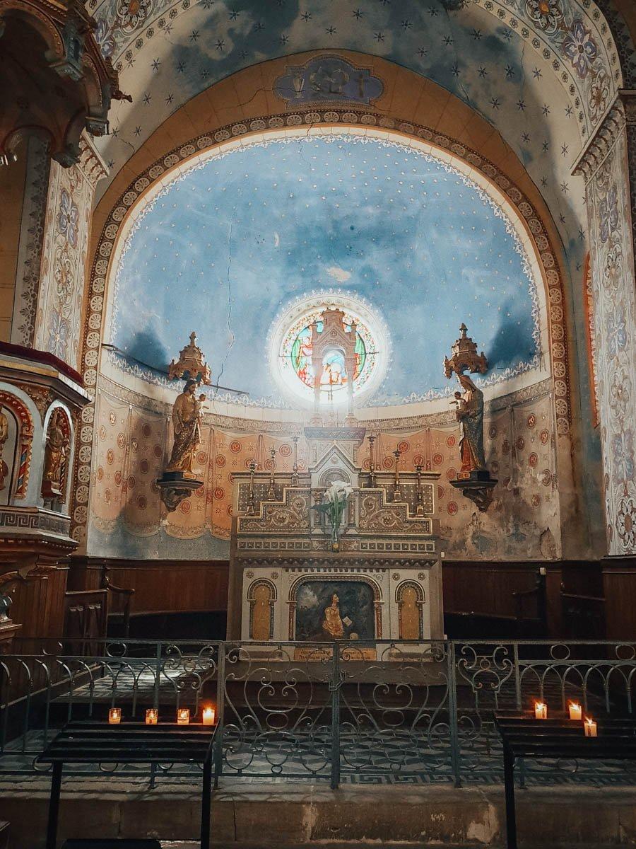 Découvrir le mystère de Rennes-le-Château dans l'Aude (église)