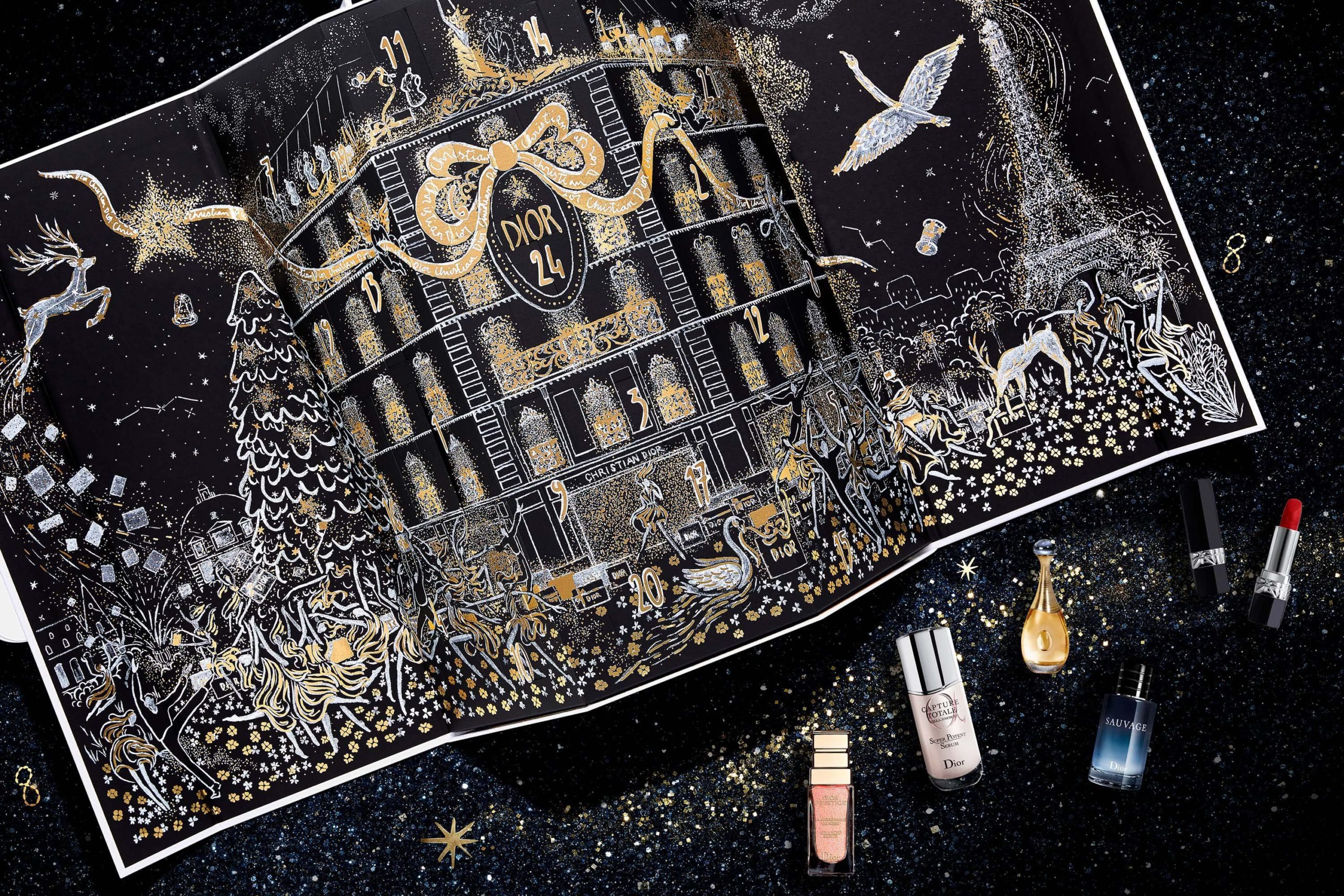Calendrier de l'Avent de luxe Dior 2020