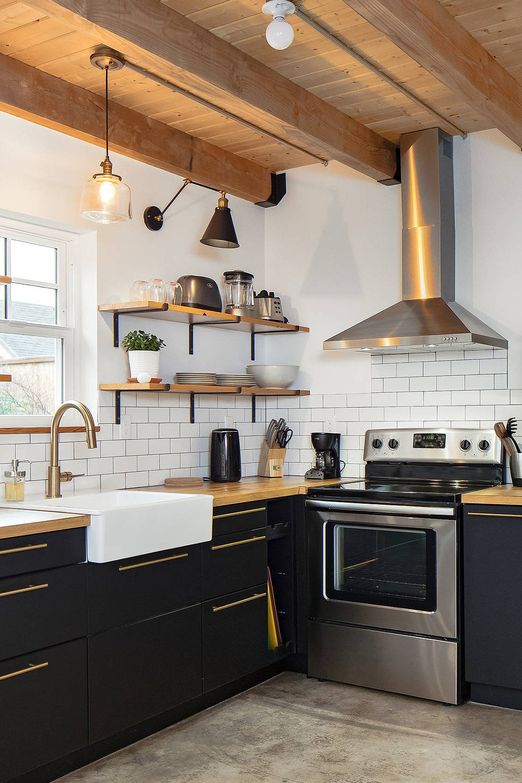 Inspiration déco : osez le noir dans la cuisine