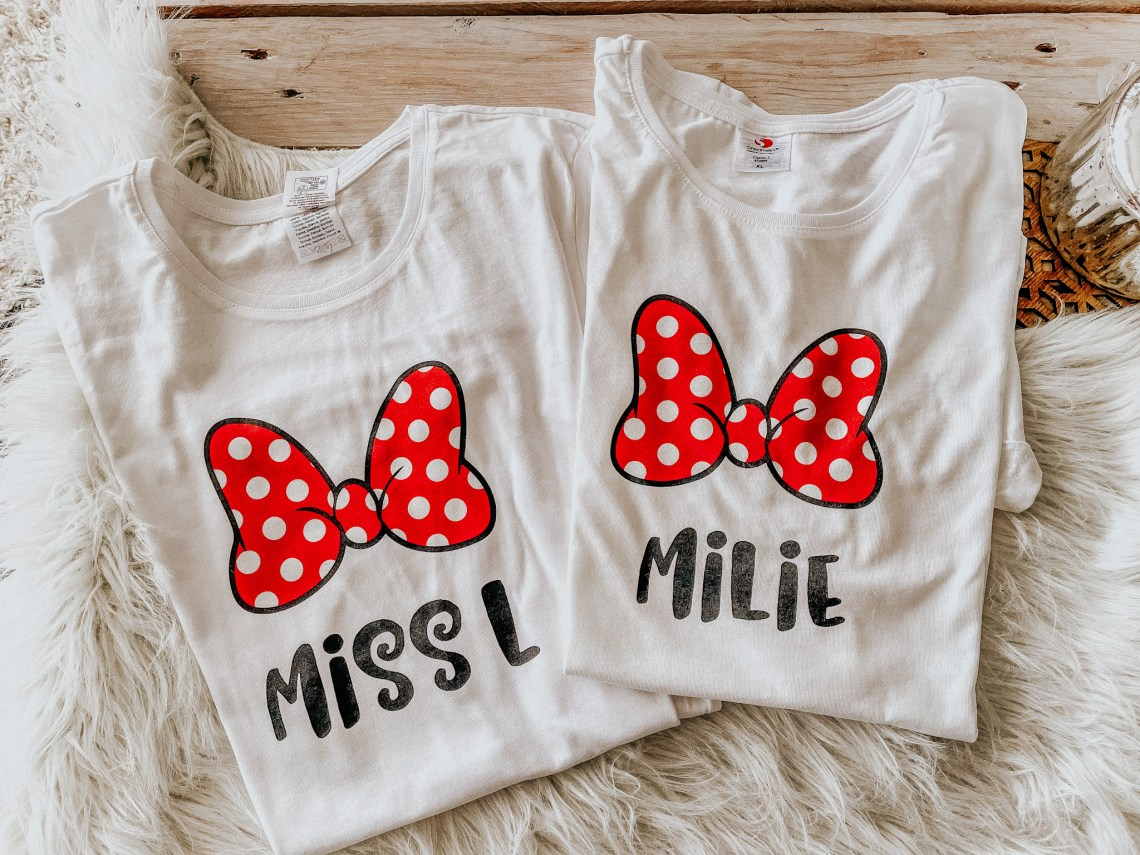 Des T.shirts mère / fille personnalisés