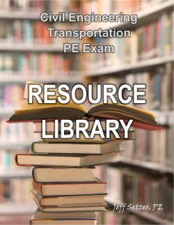 Transportation PE Exam Resource Library