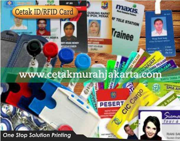 Cetak ID Card | Cetak RFID | Tempat Cetak ID Card