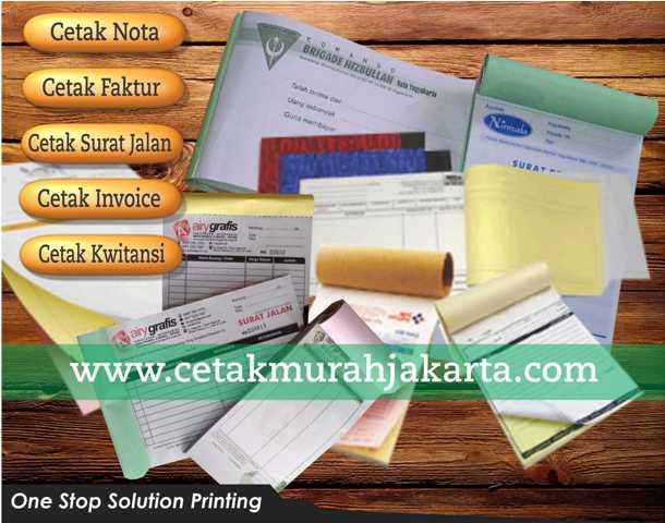 Cetak Invoice | Faktur | Surat Jalan | Tempat Pembuatan Nota