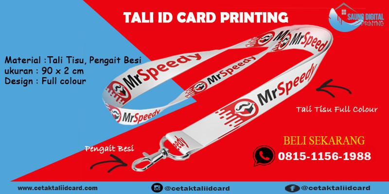 Pembuatan Tali Id Card Printing