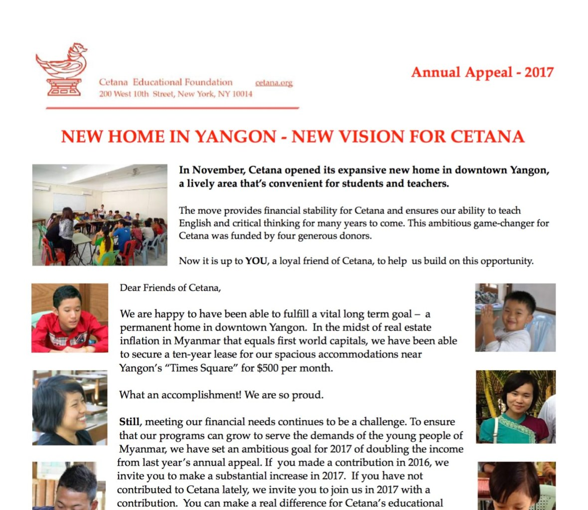 Cetana Newsletter