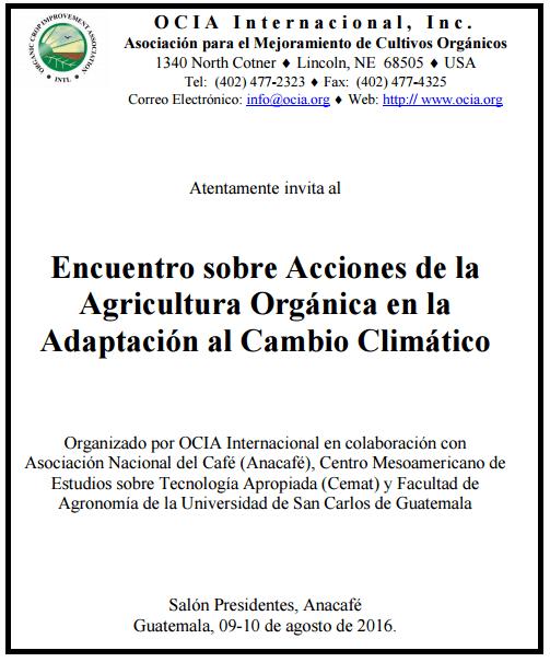 encuentro agricultura orgánica