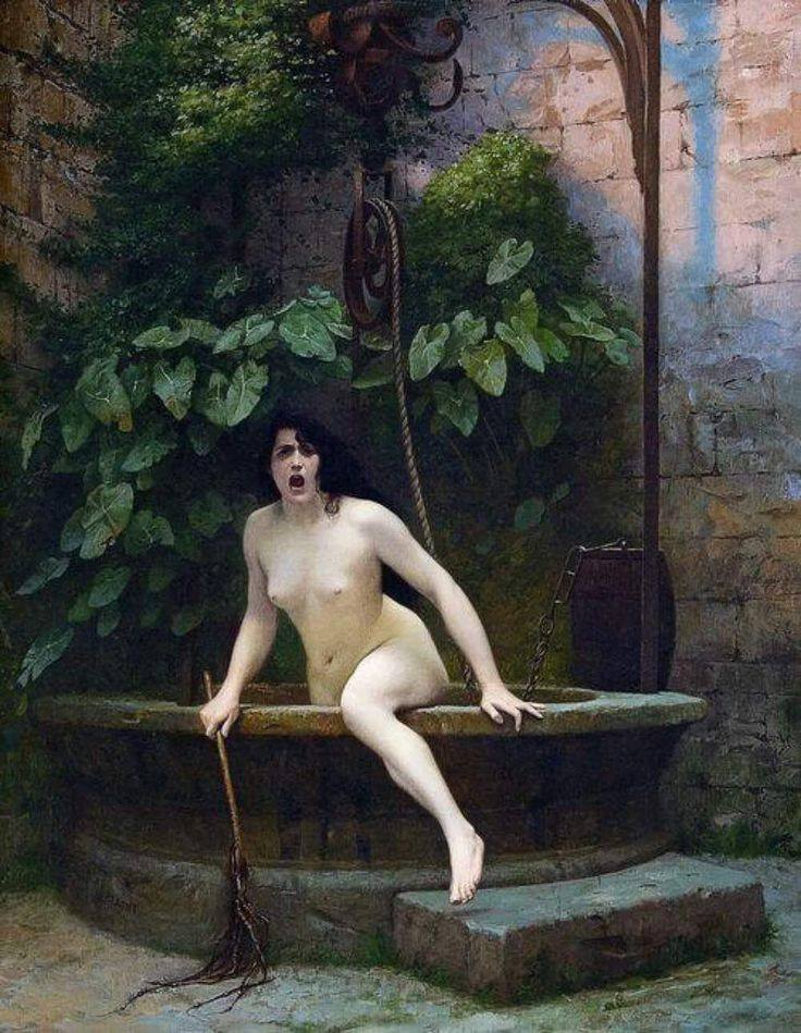 La verdad saliendo del pozo/ Jean-Léon Gerôme. 1896