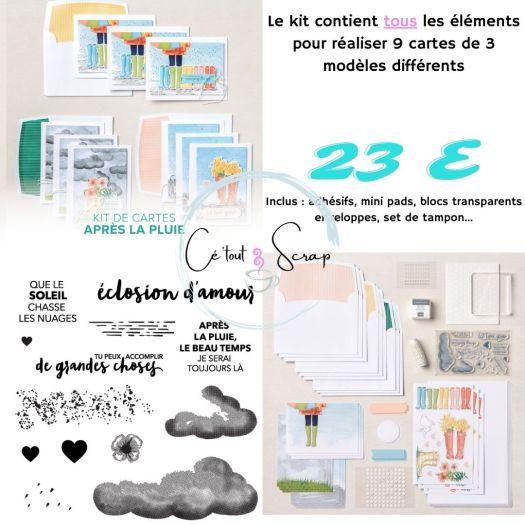 Collection de kit APRES LA PLUIE