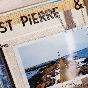 Page de scrap Saint-Pierre et Miquelon 2