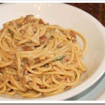 Spaghetti e noci