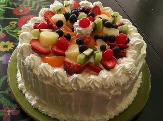Le ricette di zia Franca, torta alla panna e frutta