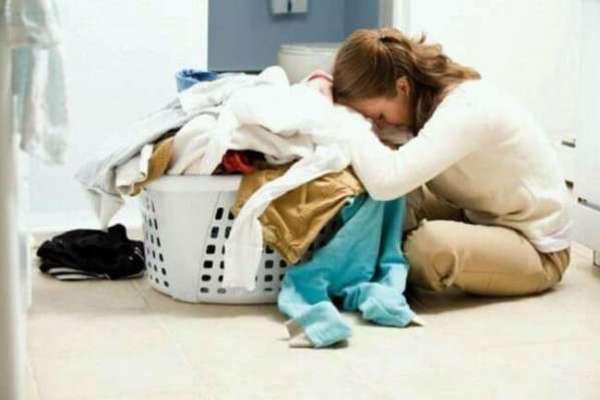 stanchezza di una casalinga